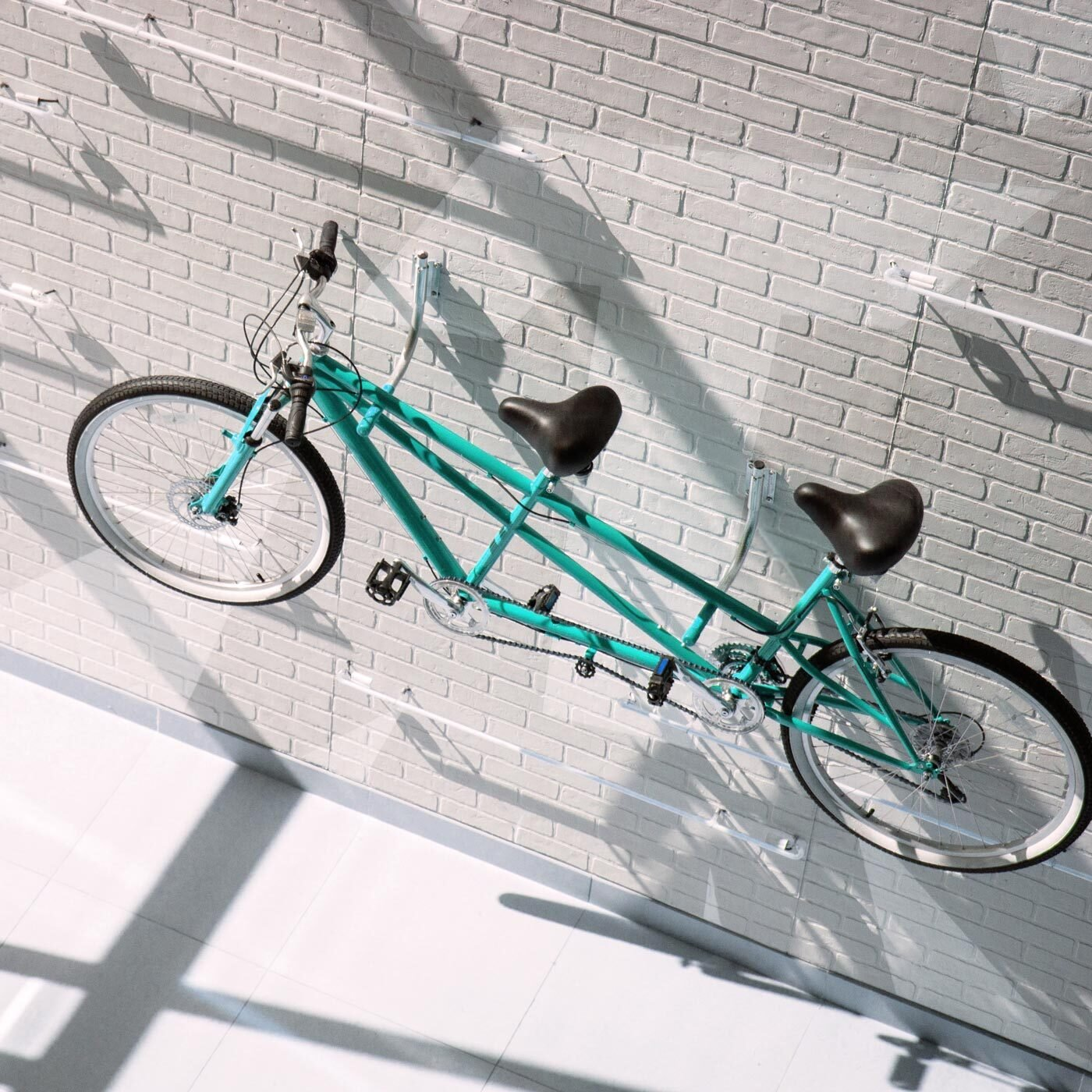 An image of a tandem bicycle to illustrate togetherness and support